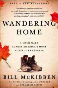 photo of the cover of Wandering Home