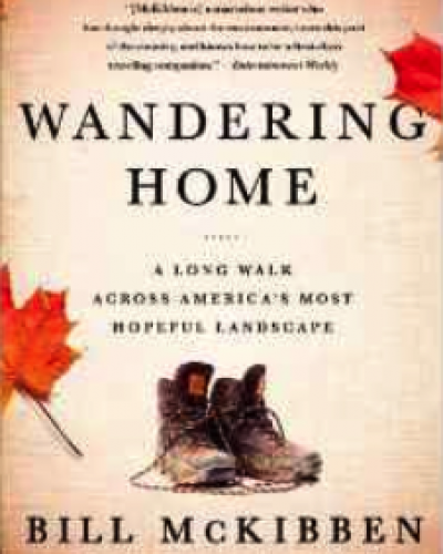 Bill McKibben Wanders Home
